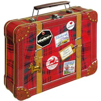 Walkers Shortbread Selection Suitcase Tin 250g