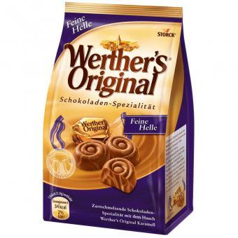 Werther's Original Schokoladen-Spezialität Feine Helle 153g