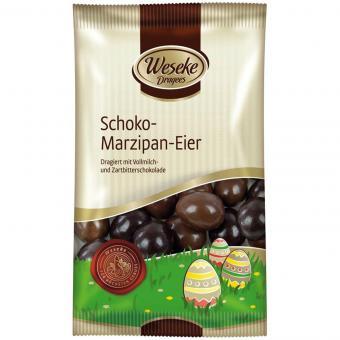 Weseke Schoko-Marzipan-Eier 125g