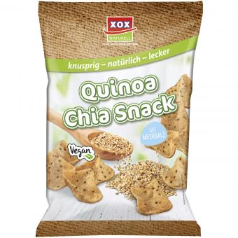 XOX Quinoa Chia Snack mit Meersalz 90g