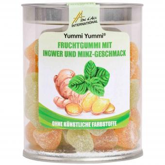 Yummi Yummi Fruchtgummi Ingwer Minze 200g