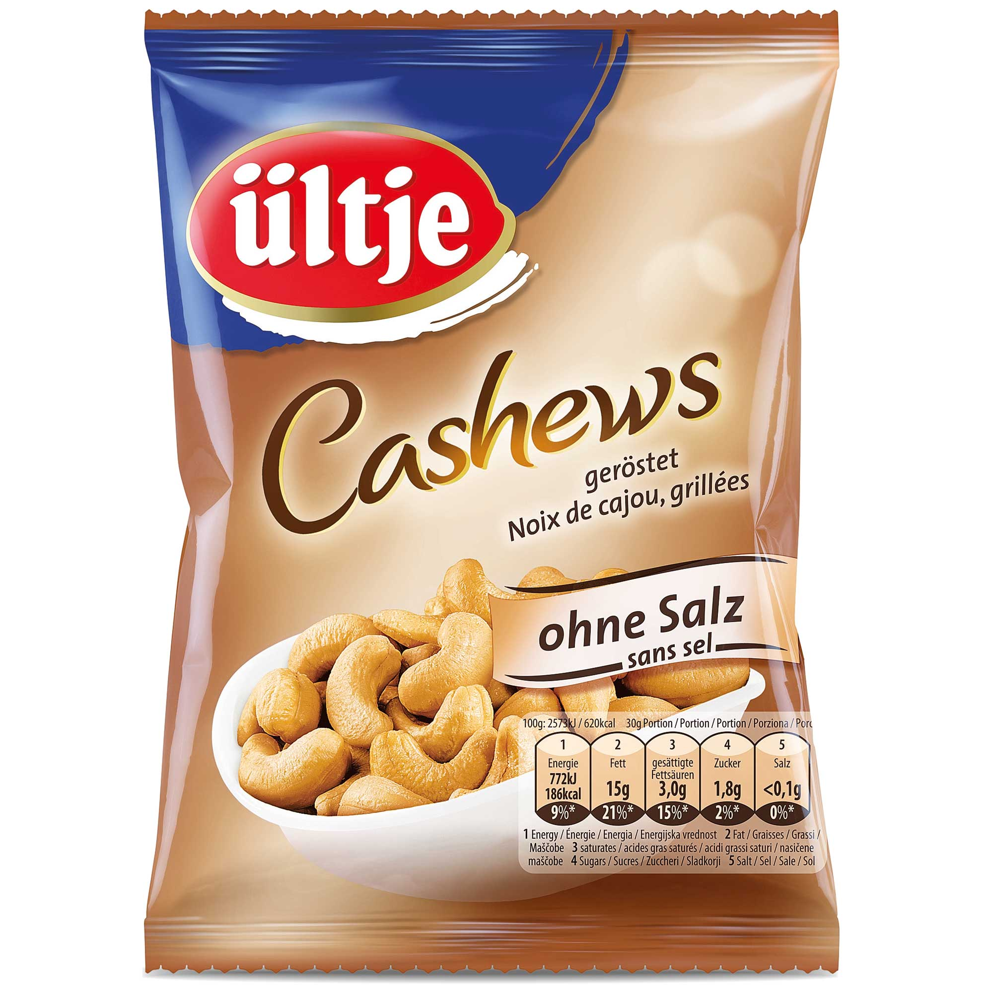 ültje cashews geröstet ohne salz  online kaufen im world  ~ Geschirrspülmaschine Ohne Salz