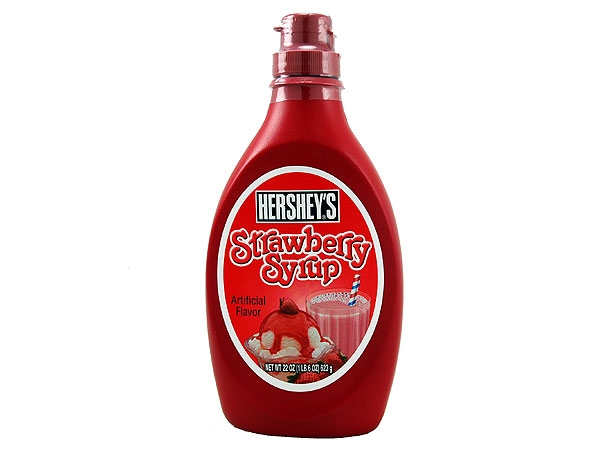 Hershey's Strawberry Syrup | Online kaufen im World of Sweets Shop