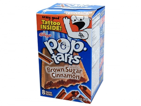 Kellogg's Pop-Tarts Frosted Brown Sugar Cinnamon | Online kaufen im ...