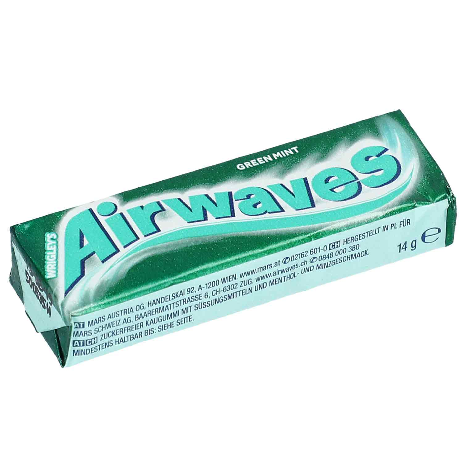 Airwaves Green Mint 10er Online Kaufen Im World Of Sweets Shop