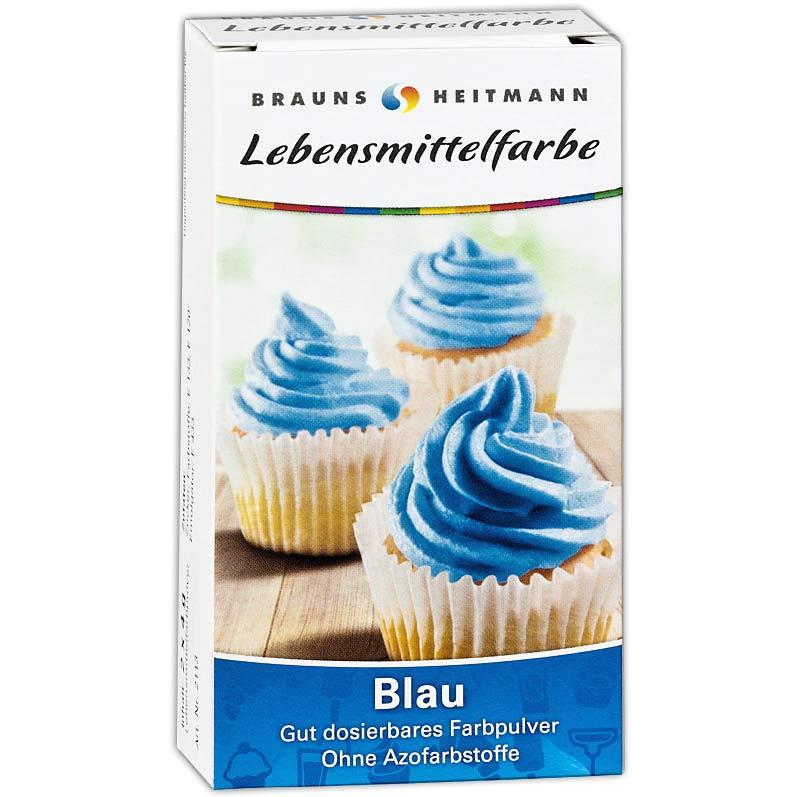 Lebensmittelfarbe Blau