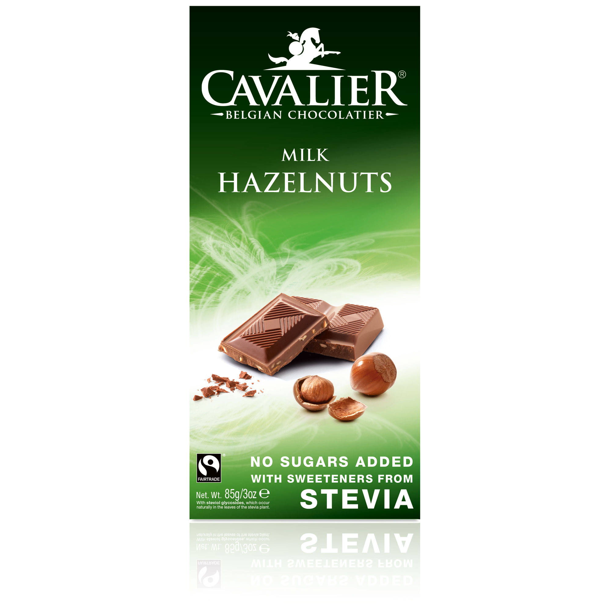 cavalier stevia milk hazelnuts online kaufen im world of sweets shop. Black Bedroom Furniture Sets. Home Design Ideas