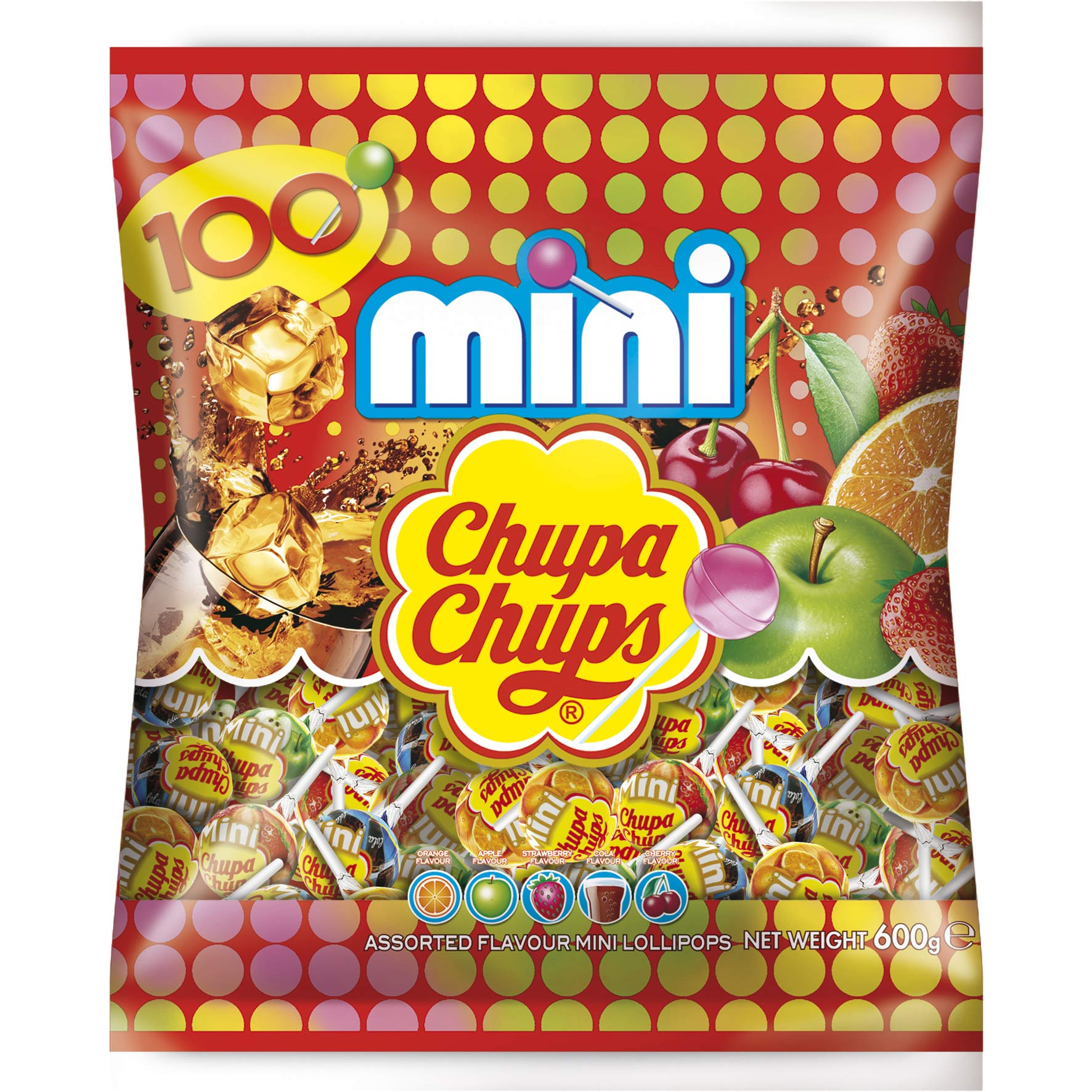 Chupa chups mini 100er online kaufen im world of sweets shop - Housse de couette chupa chups ...