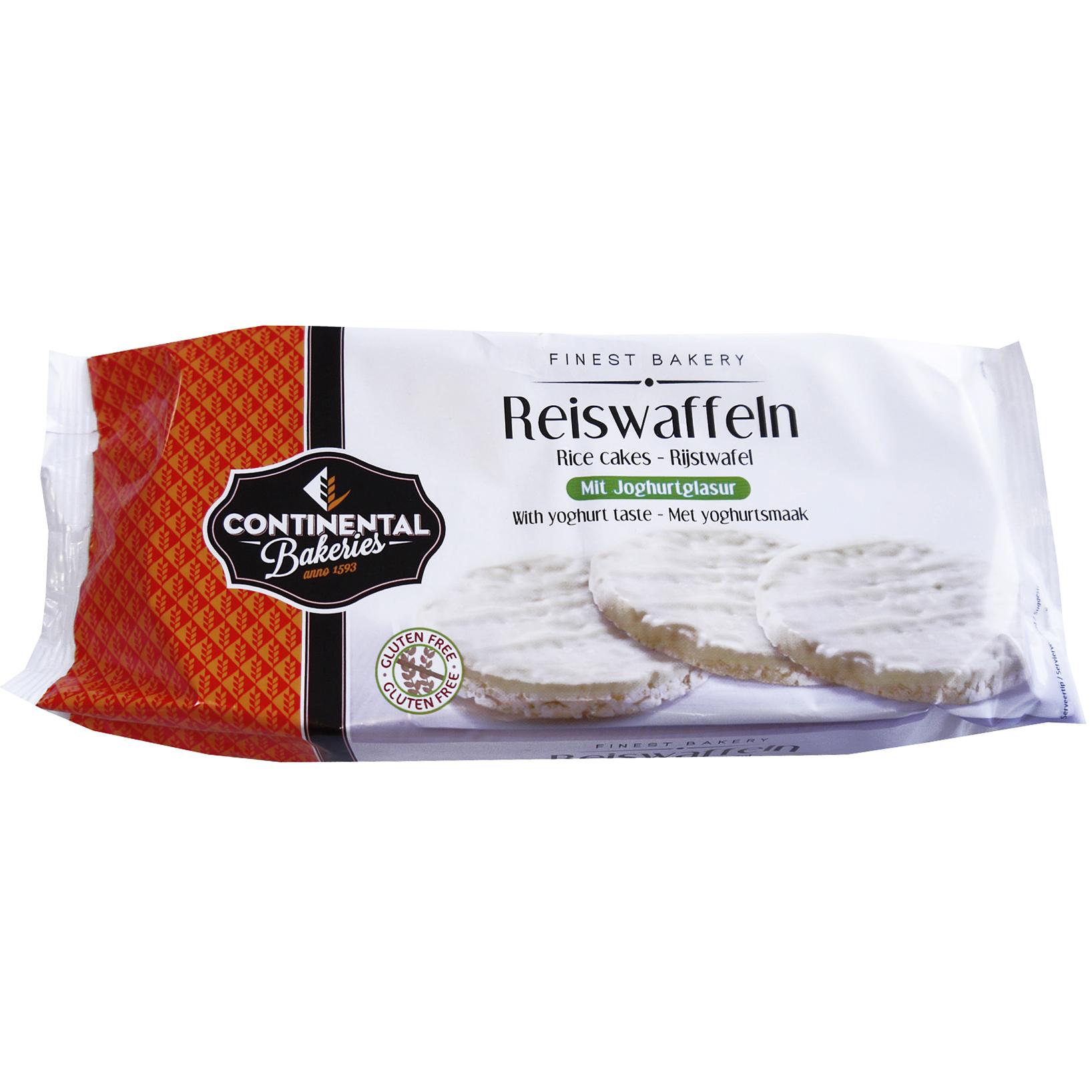 Continental Bakeries Reiswaffeln mit Joghurtglasur | Online kaufen ...