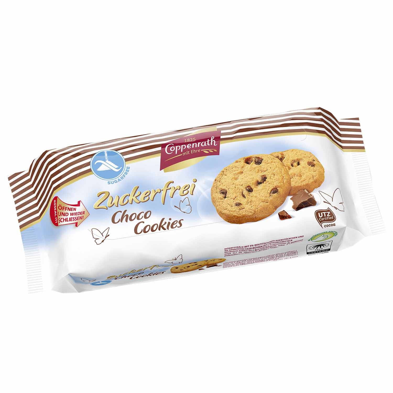 Coppenrath Zuckerfrei Choco Cookies 200g