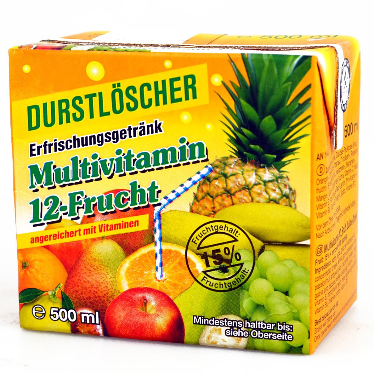 Durstlöscher Multivitamin