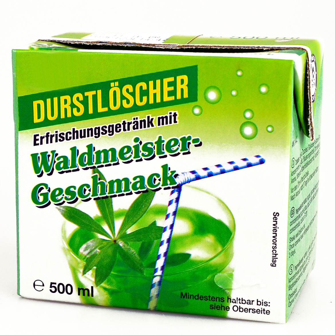 durstl scher waldmeister 500ml online kaufen im world of. Black Bedroom Furniture Sets. Home Design Ideas