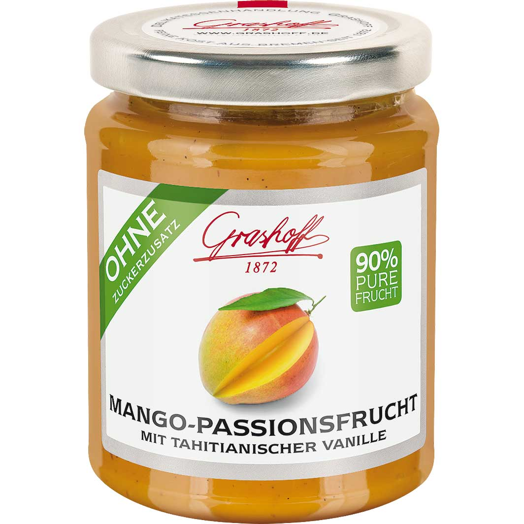 grashoff 90 frucht mango passionsfrucht 230g online kaufen im world of sweets shop. Black Bedroom Furniture Sets. Home Design Ideas