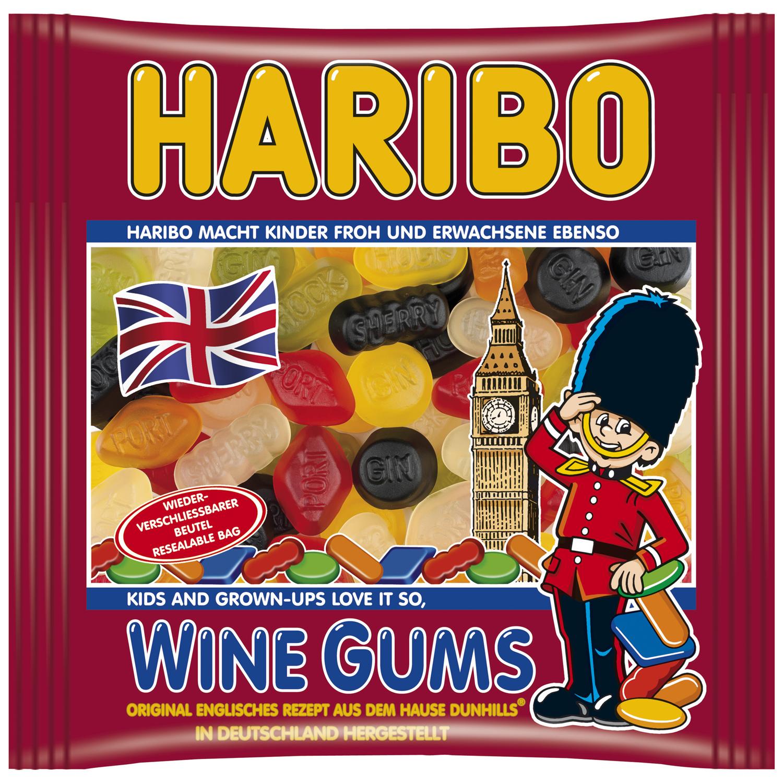Haribo Wine Gums 500g | Online kaufen im World of Sweets Shop