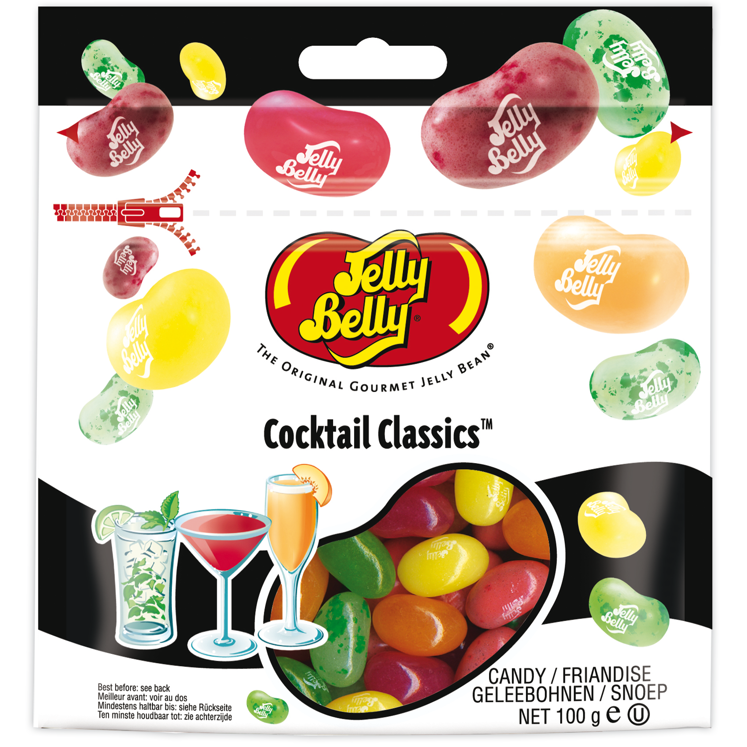 jelly belly cocktail classics mischung 100g online kaufen im world of sweets shop. Black Bedroom Furniture Sets. Home Design Ideas