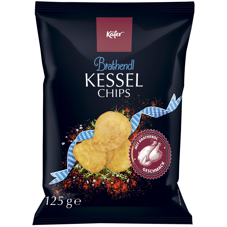 Käfer Kessel Chips Brathendl | Online kaufen im World of Sweets Shop