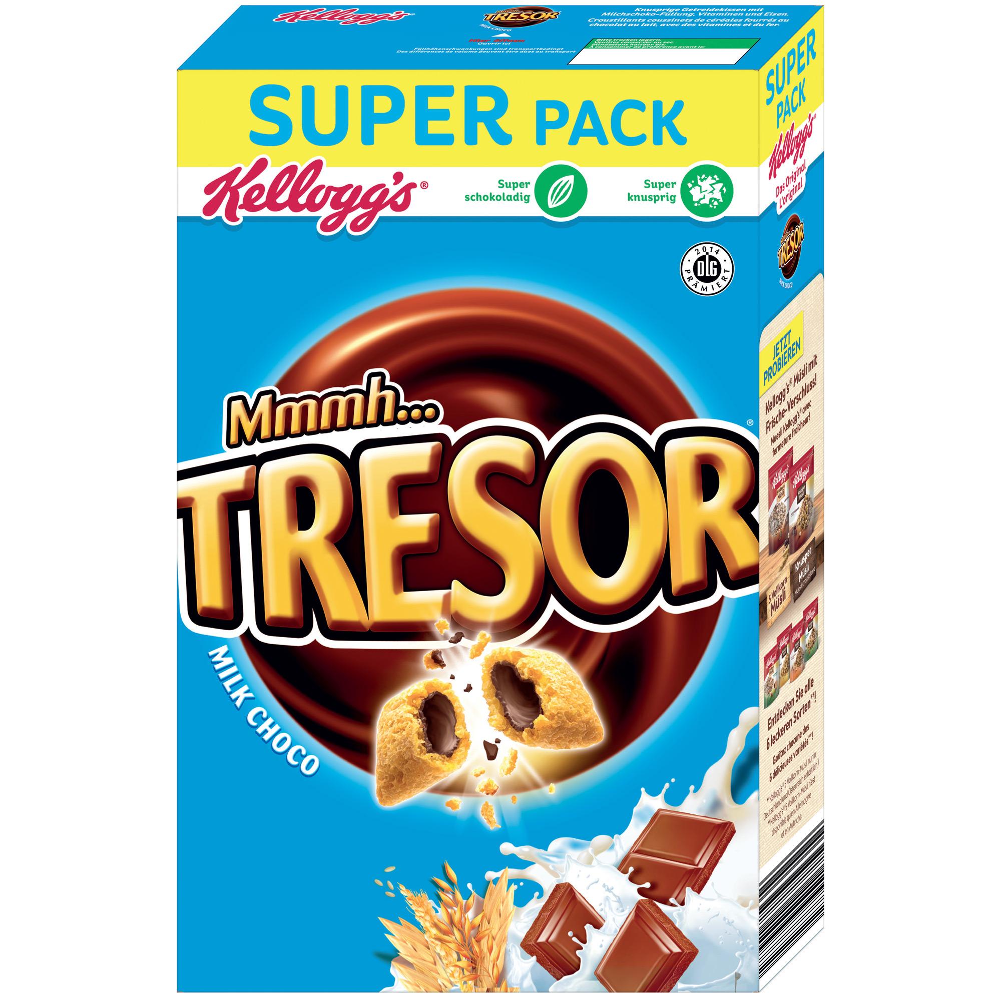 kellogg 39 s mmmh tresor milk choco super pack online kaufen im world of sweets shop. Black Bedroom Furniture Sets. Home Design Ideas