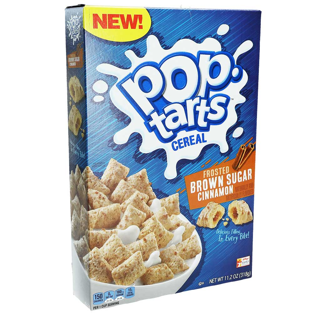Kellogg's Pop-Tarts Cereal Frosted Brown Sugar Cinnamon