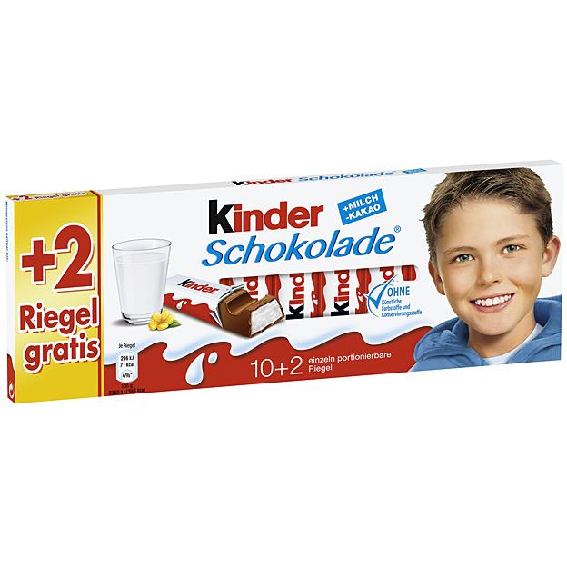 kinder milchschokolade