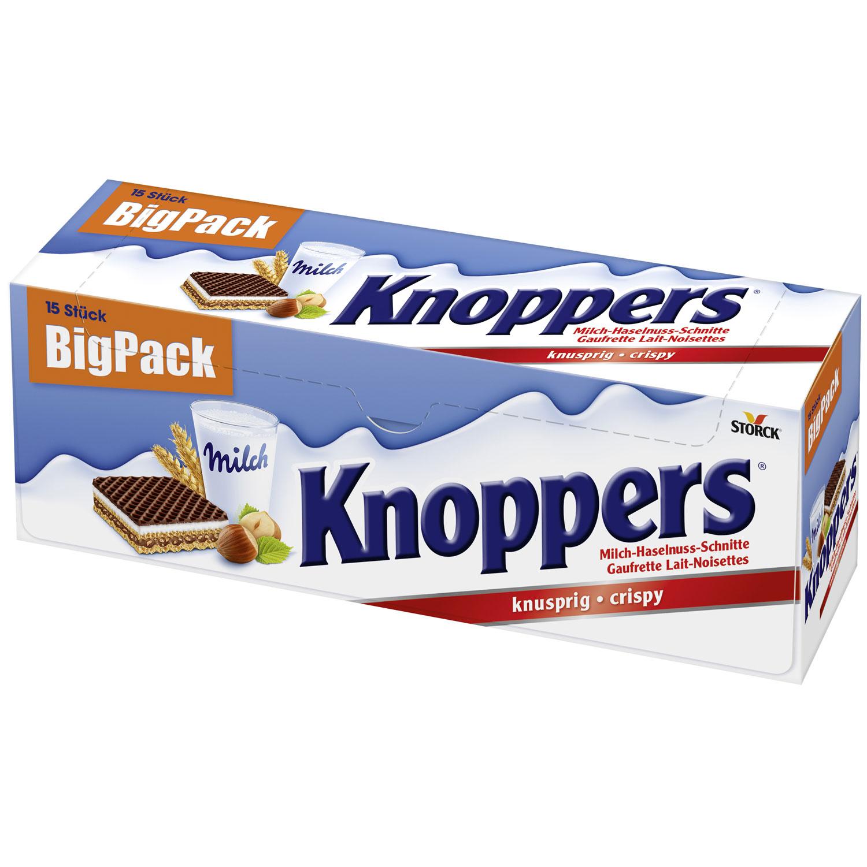 knoppers 15er big pack online kaufen im world of sweets shop. Black Bedroom Furniture Sets. Home Design Ideas