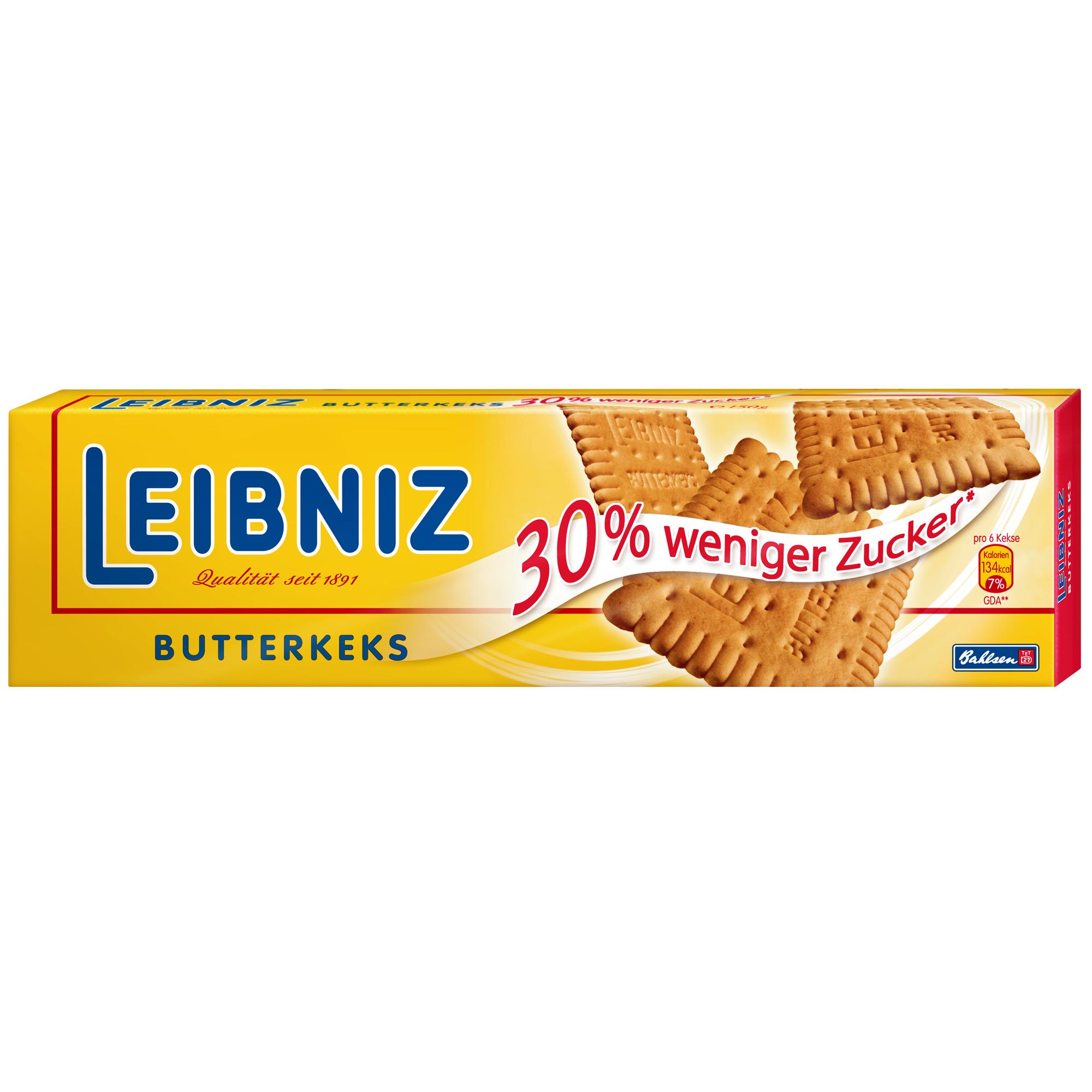 Leibniz Butterkeks 30% weniger Zucker | Online kaufen im World of ...