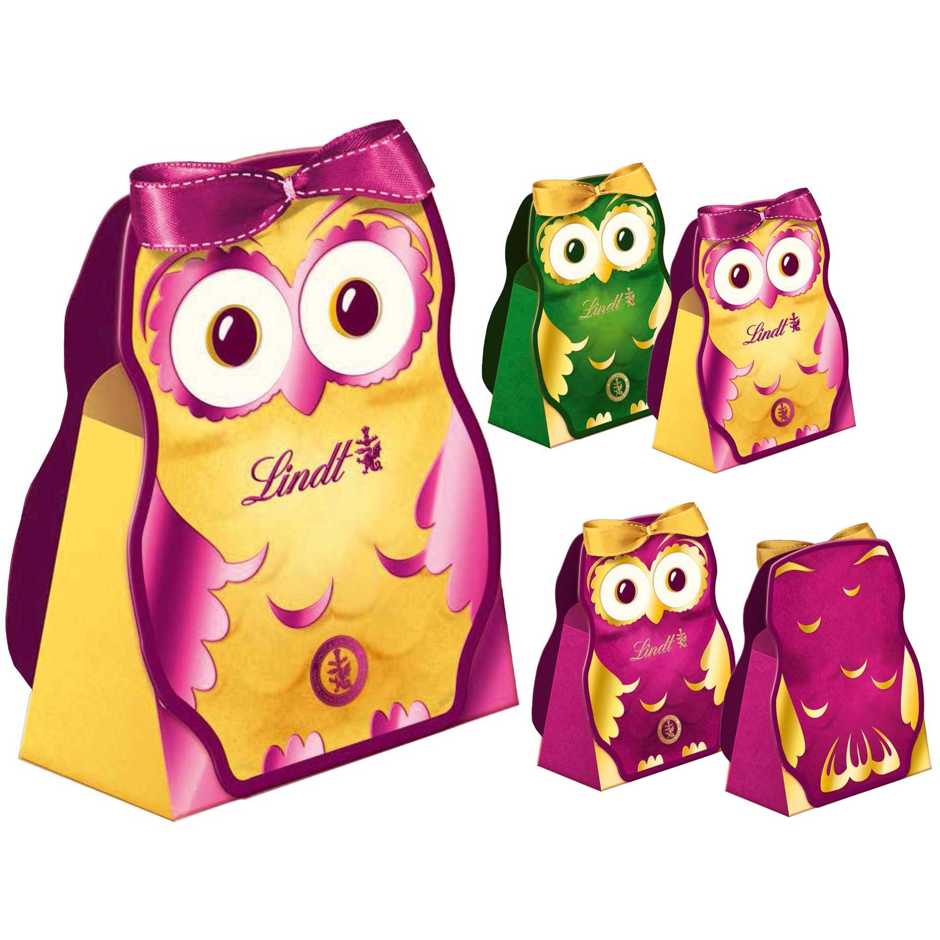 lindt eule kleines geschenk online kaufen im world of sweets shop