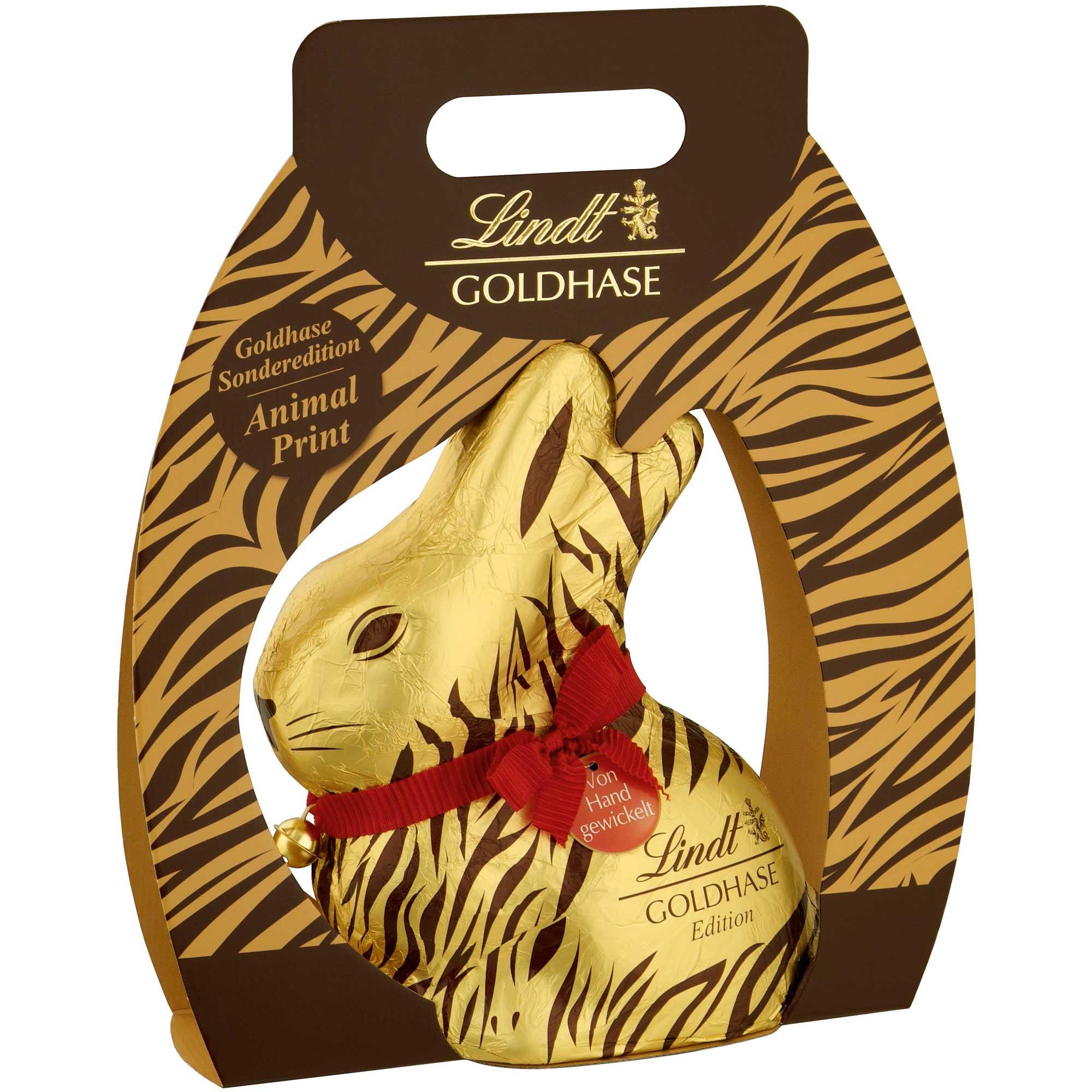lindt goldhase animal print 500g online kaufen im world of sweets shop. Black Bedroom Furniture Sets. Home Design Ideas