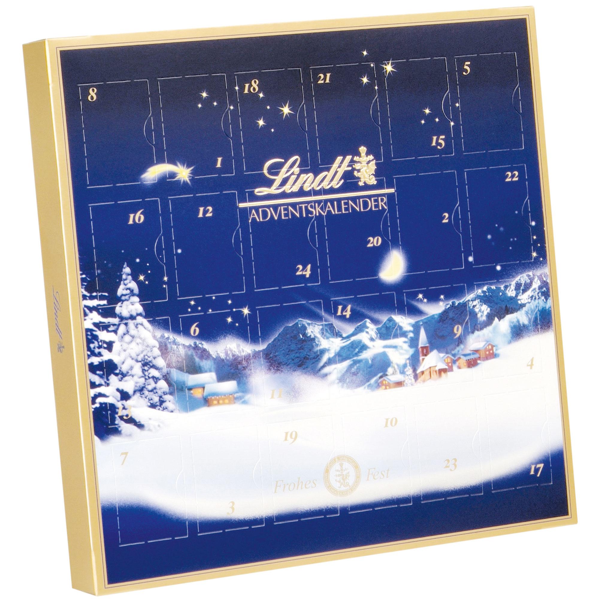 lindt weihnachtszauber mini tisch adventskalender online kaufen im world of sweets shop. Black Bedroom Furniture Sets. Home Design Ideas