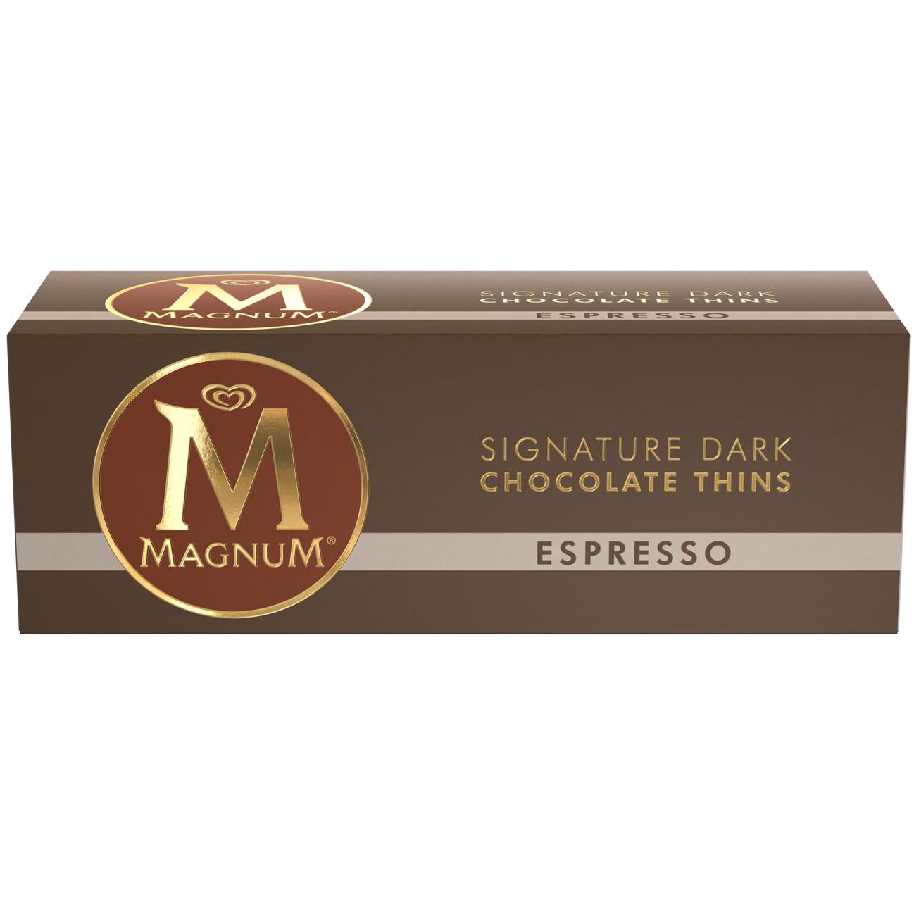 Magnum Signature Dark Chocolate Thins