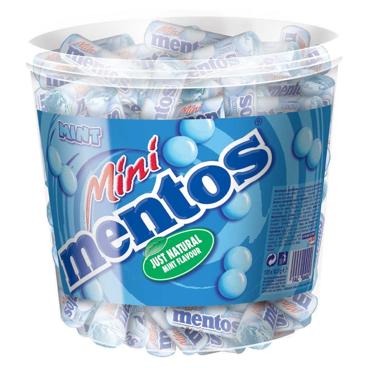 Mentos Mini Mentos Mini Mint 120er Dose