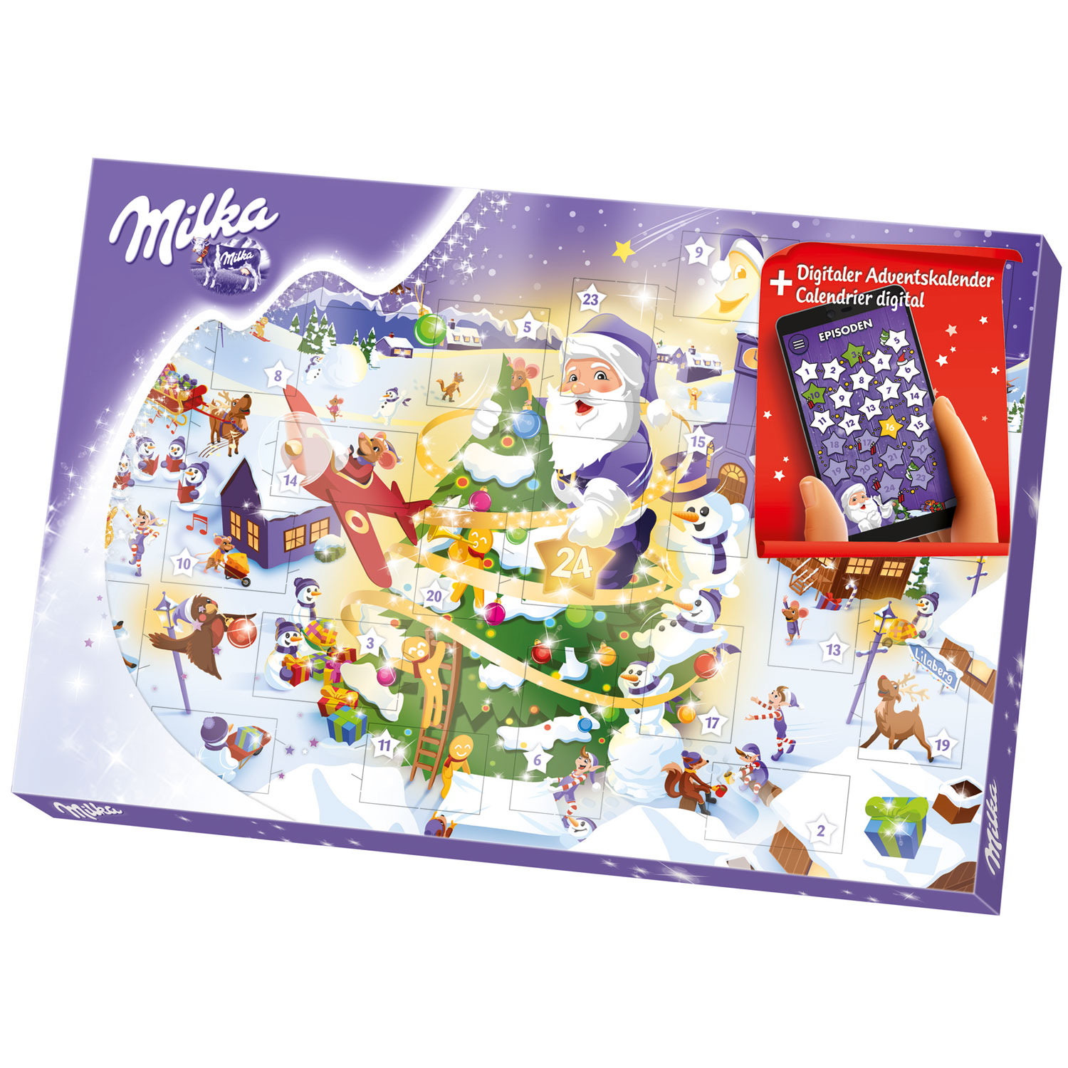 milka digitaler adventskalender online kaufen im world of sweets shop. Black Bedroom Furniture Sets. Home Design Ideas