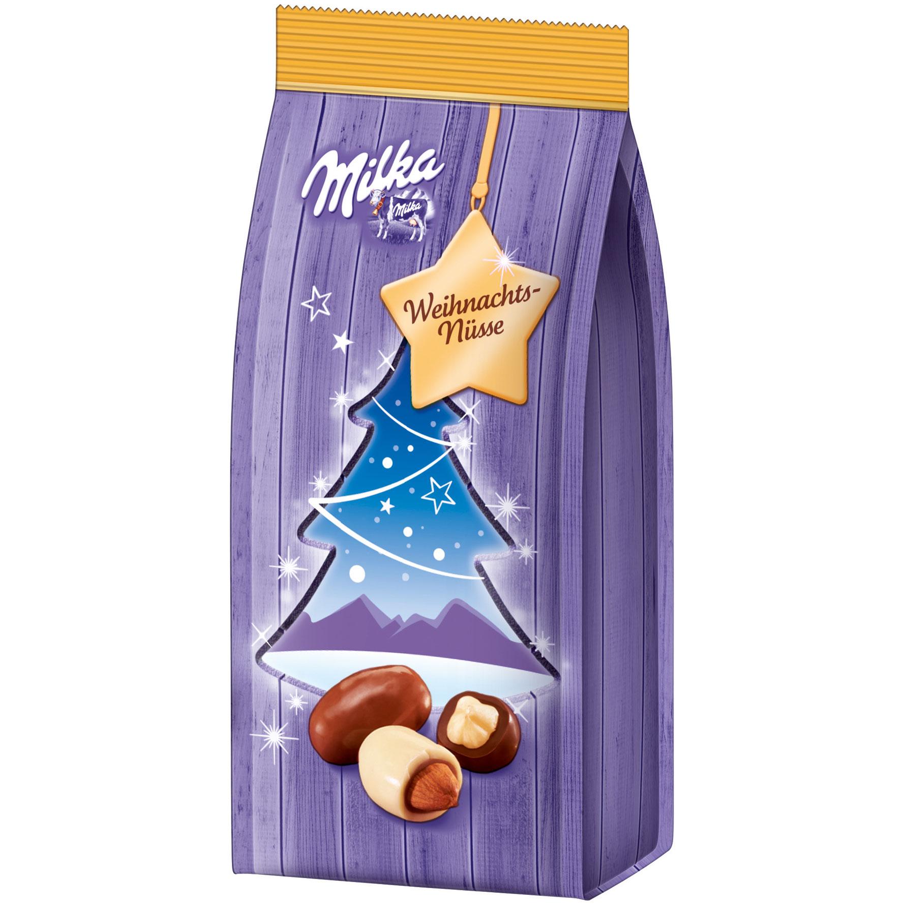Milka Weihnachtsmandeln