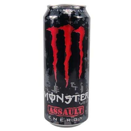 monster energy assault online kaufen im world of sweets shop. Black Bedroom Furniture Sets. Home Design Ideas