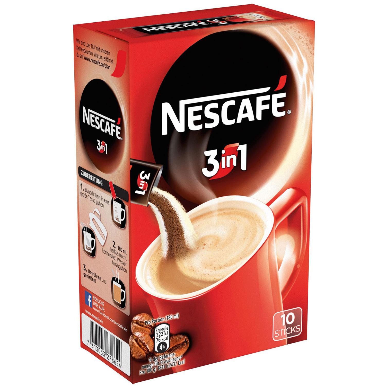 Nescaf 233 3in1 Stix 10er Online Kaufen Im World Of Sweets Shop