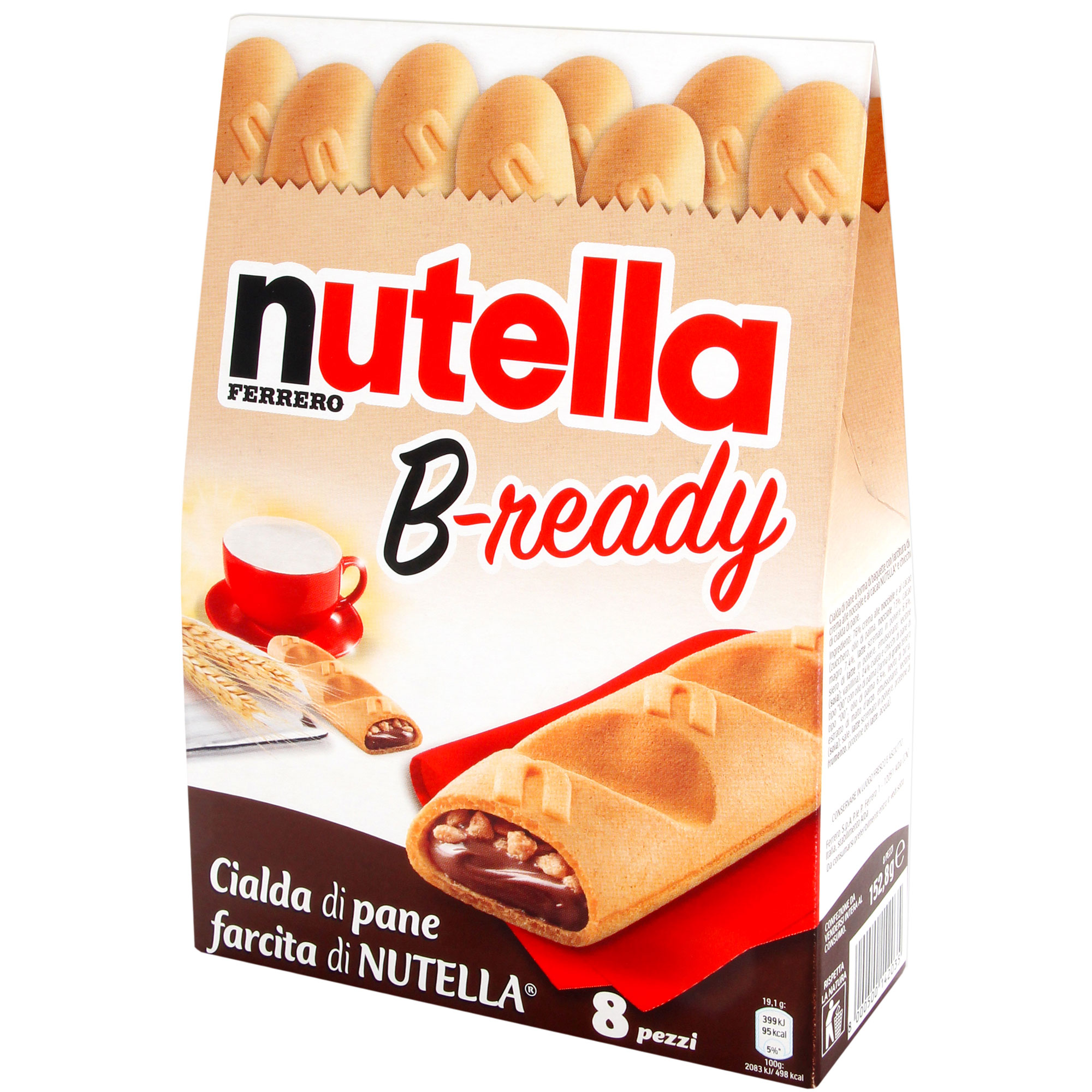 Nutella b ready online kaufen im world of sweets shop for B b italia online