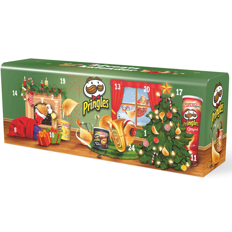 Chip De Weihnachtskalender.Pringles Chips Adventskalender