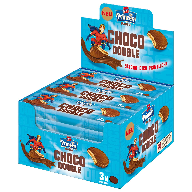 prinzen rolle choco double 18x3er sparpack online kaufen im world of sweets shop. Black Bedroom Furniture Sets. Home Design Ideas