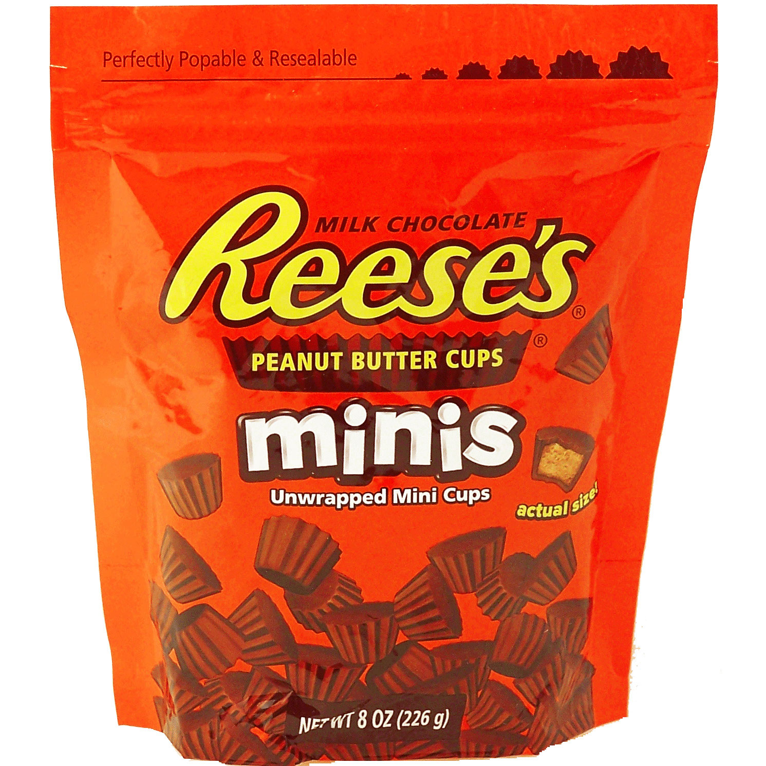 reese 39 s peanut butter cups minis 226g online kaufen im. Black Bedroom Furniture Sets. Home Design Ideas
