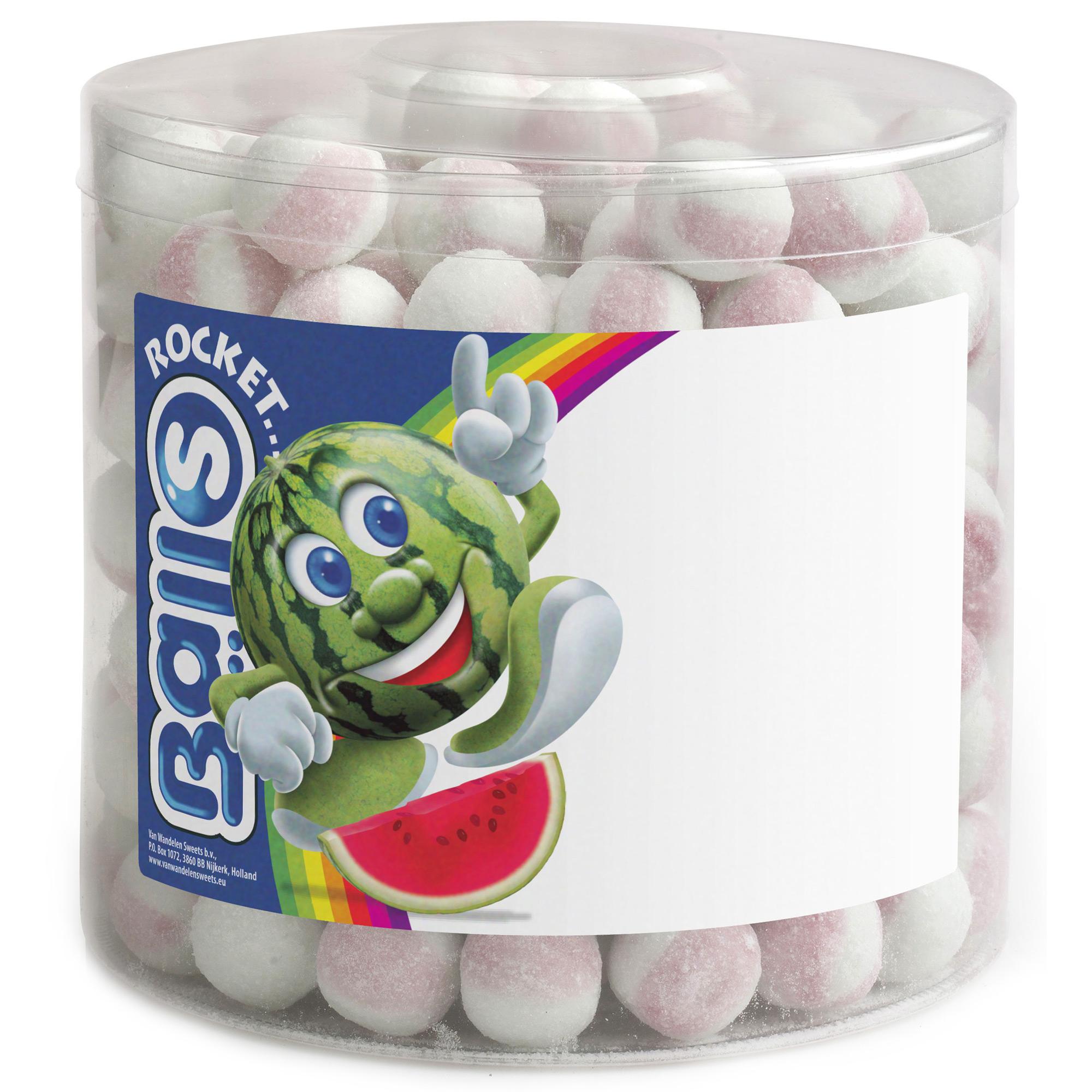 rocket balls brauseb lle wassermelone 200er dose online kaufen im world of sweets shop. Black Bedroom Furniture Sets. Home Design Ideas