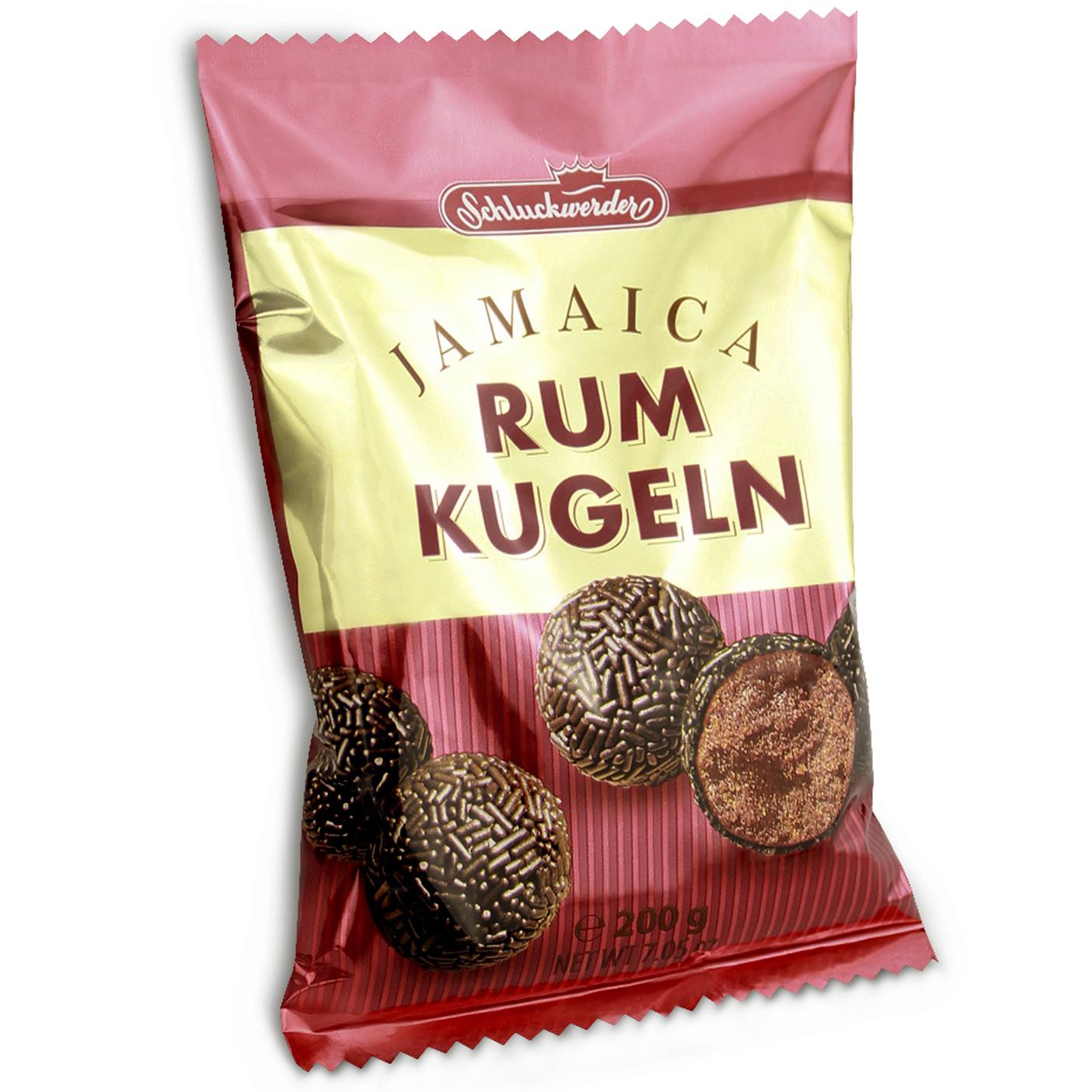 Schluckwerder Jamaica-Rumkugeln | Online kaufen im World of Sweets Shop
