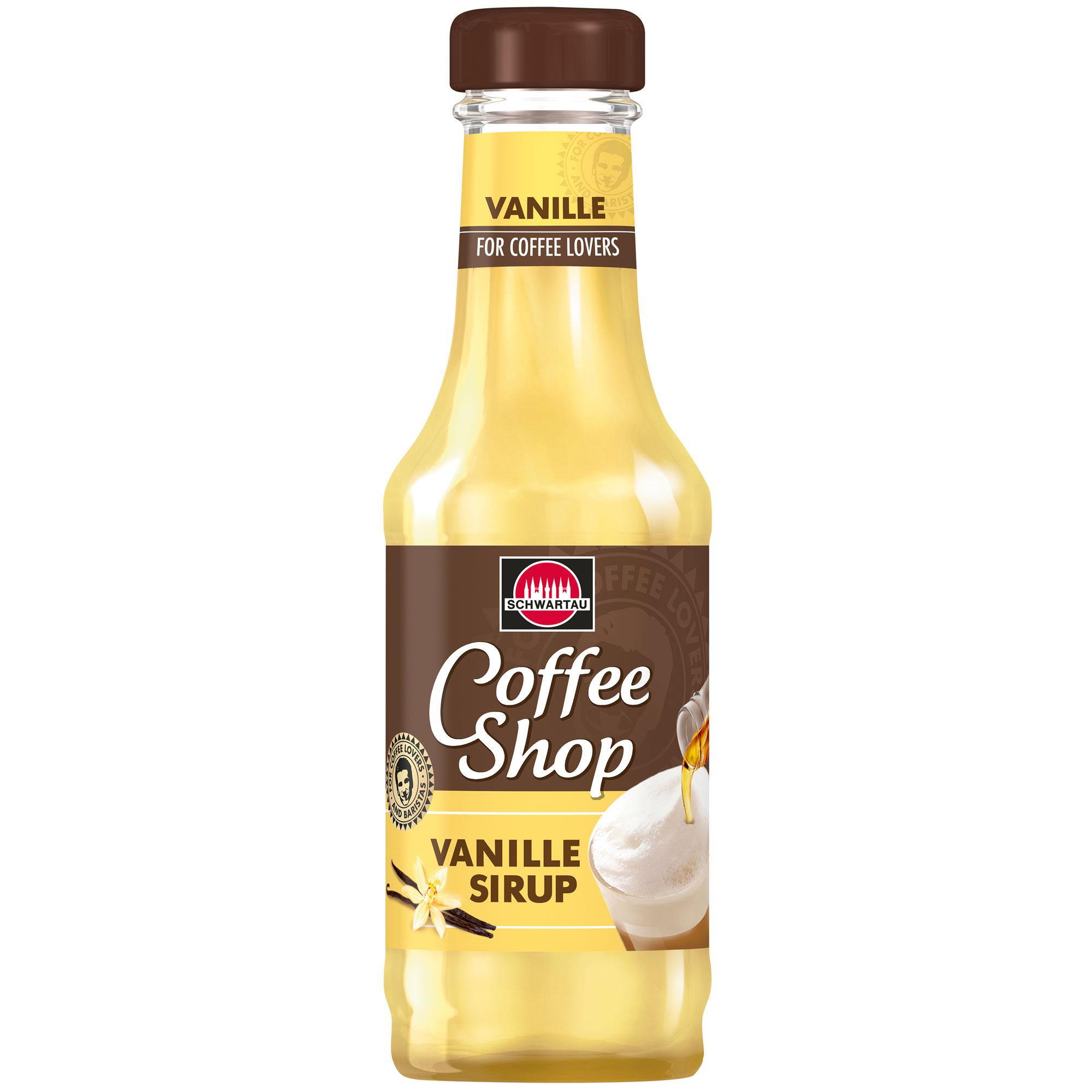 Schwartau Coffee Shop Vanille Sirup   Online kaufen im World of ...