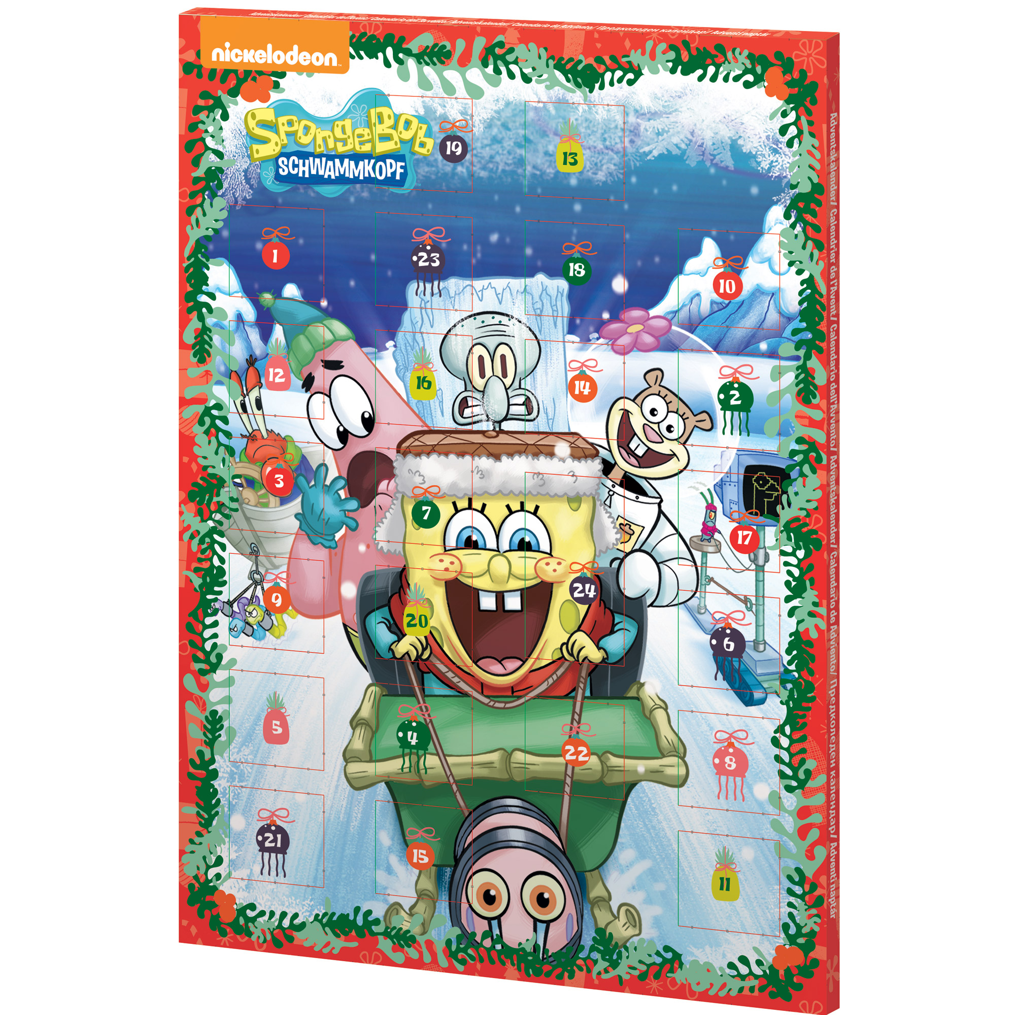 spongebob schwammkopf adventskalender. Black Bedroom Furniture Sets. Home Design Ideas
