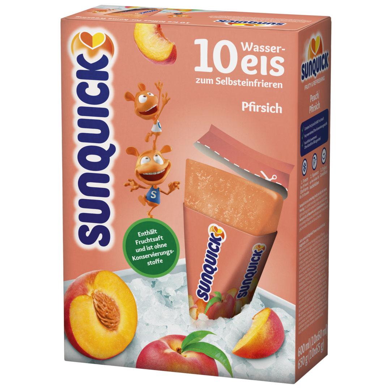 Sunquick Wassereis Pfirsich 10er Online Kaufen Im World Of Sweets Shop