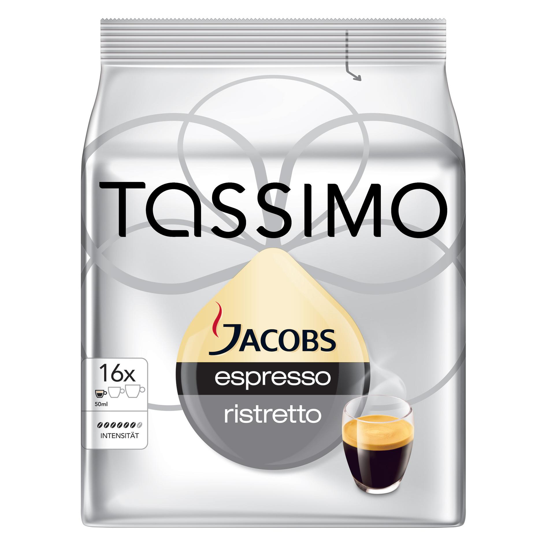 tassimo jacobs espresso ristretto 16x online kaufen im. Black Bedroom Furniture Sets. Home Design Ideas