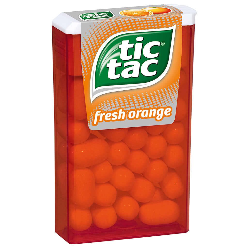 Tic tac fresh orange 18g online kaufen im world of - Tac tic leroy ...