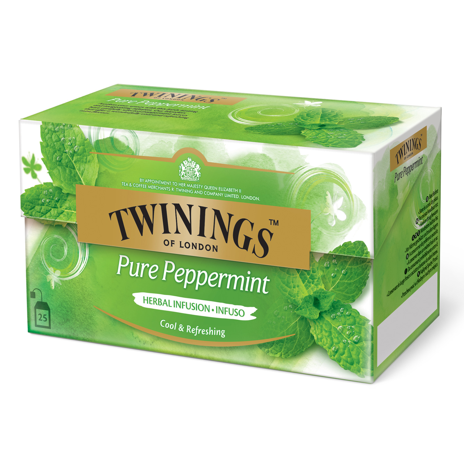 twinings infusions pure peppermint 25 teebeutel online. Black Bedroom Furniture Sets. Home Design Ideas