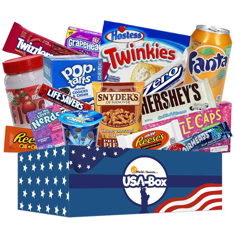 Amerikanische Süßigkeiten Online-Shop