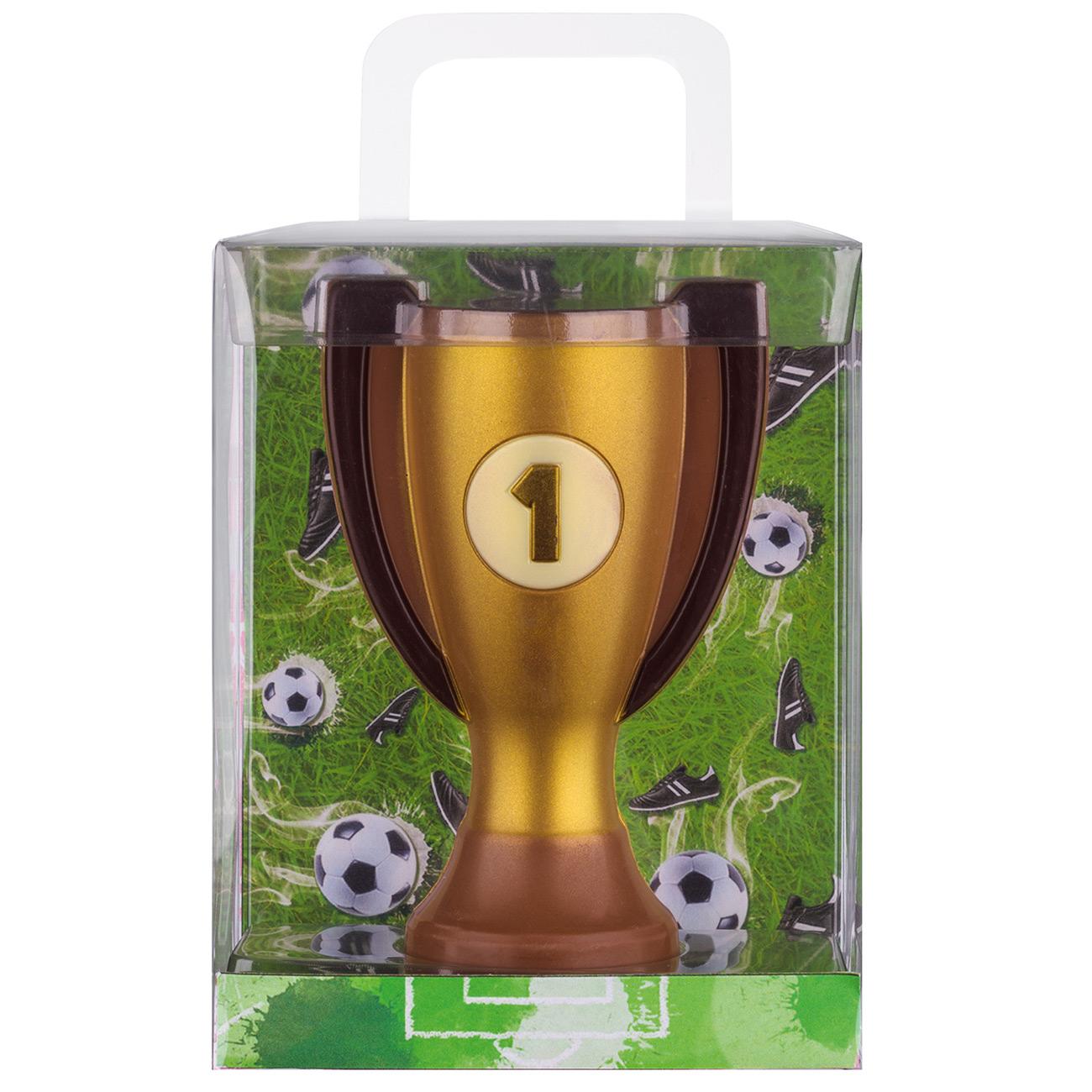 Weibler Geschenkpackung Pokal Fussball 150g