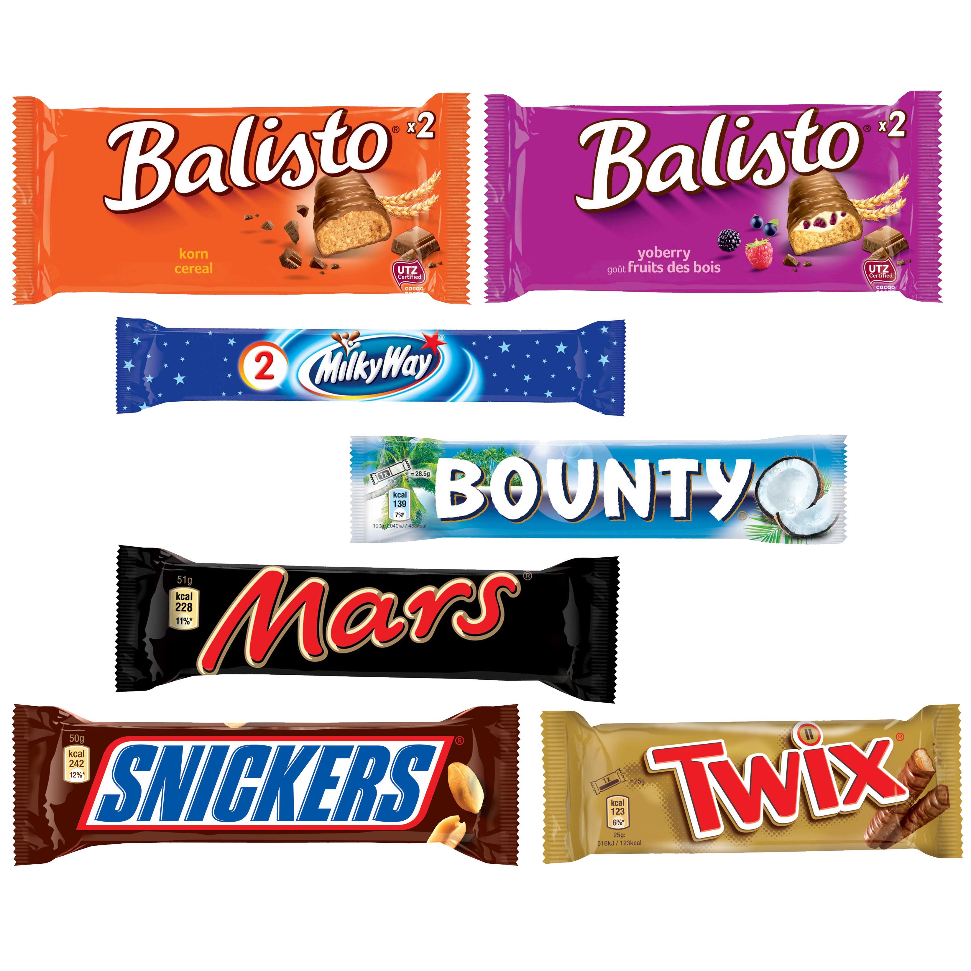 Mars Chocolate Schoko-Riegel 184er Spar-Set | Online ...