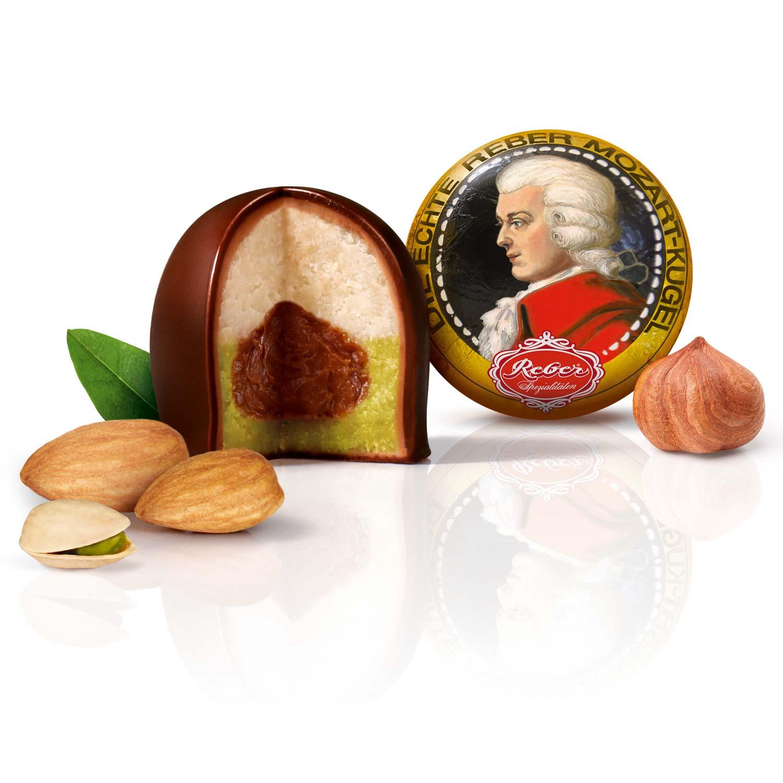 Reber Mozart Kugeln 15er   Online kaufen im World of Sweets Shop